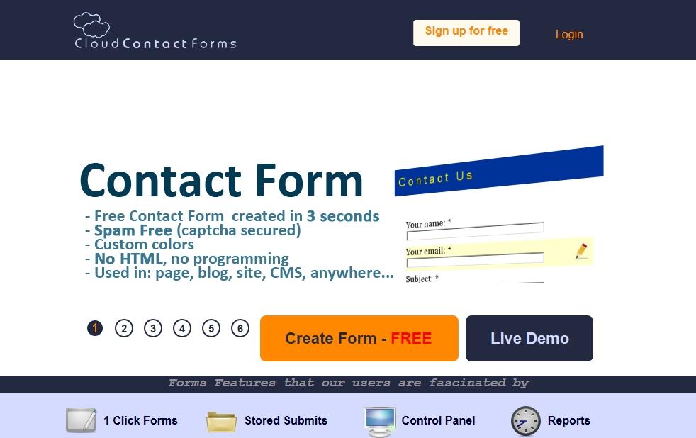 cloudcontactforms.com