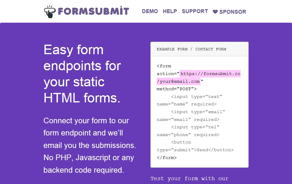 formsubmit.co