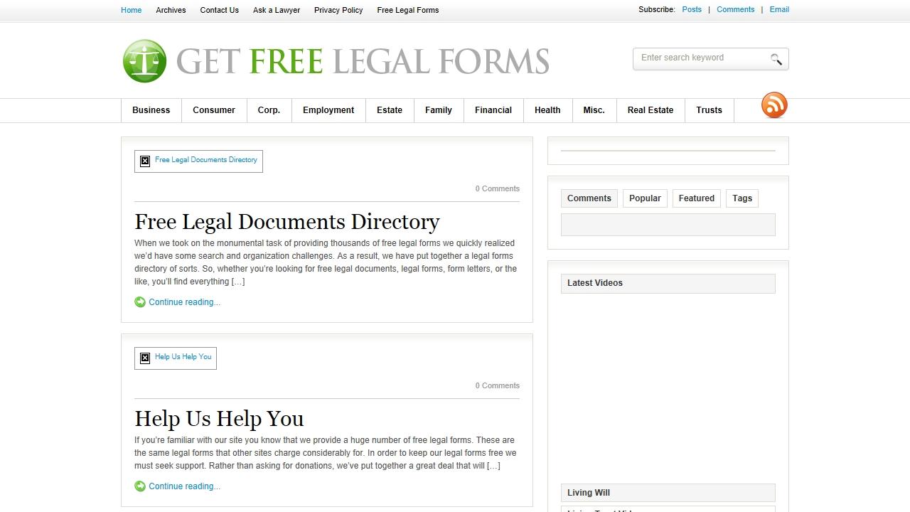 getfreelegalforms.com