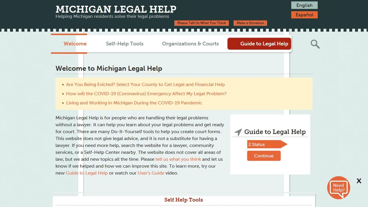michiganlegalhelp.org