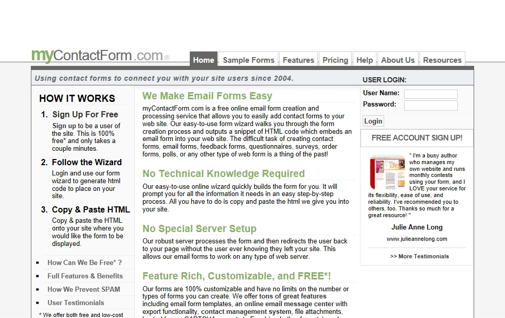 mycontactform.com