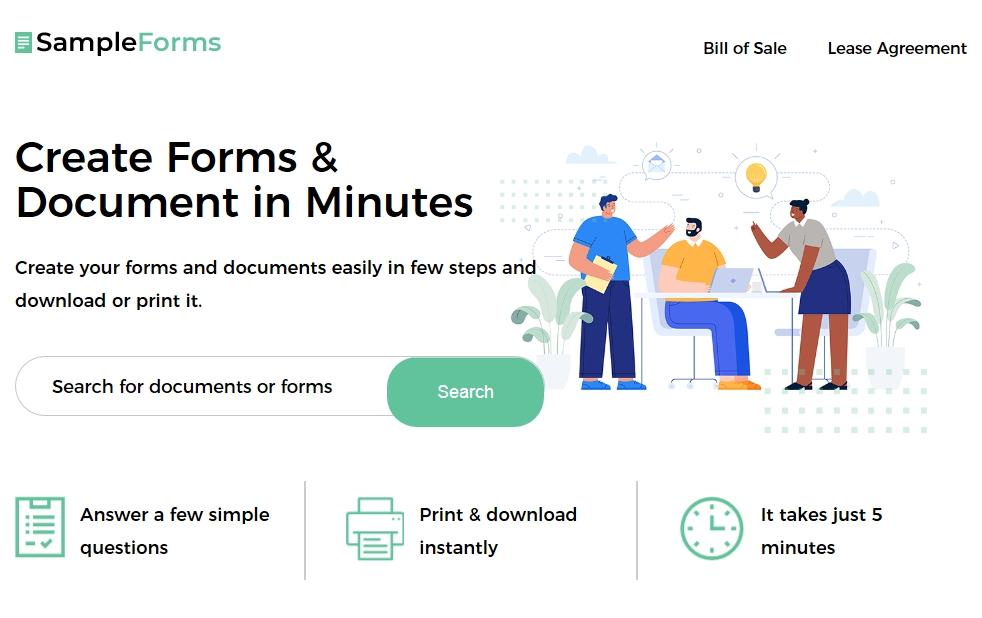 sampleforms.com