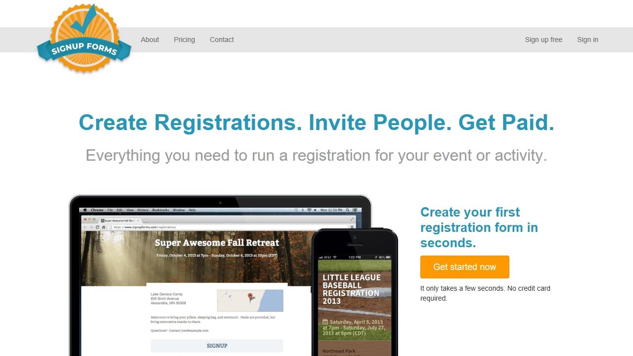 signupforms.com