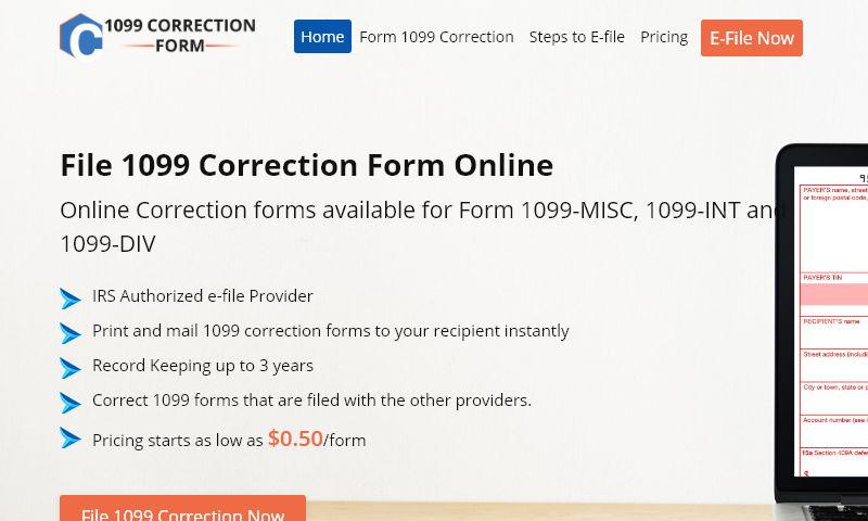 1099correctionform.com