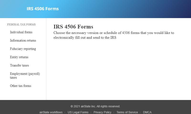 4506-forms.com