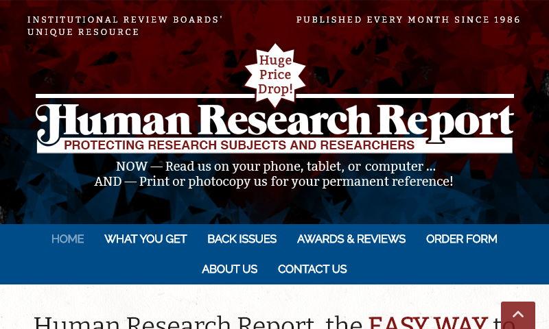 4humansubject.com