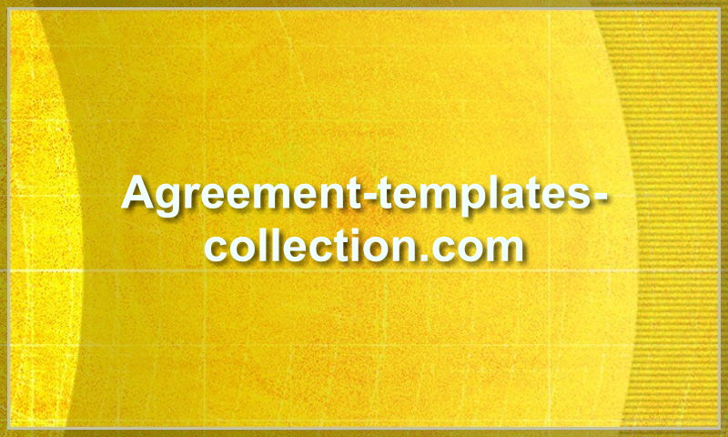 agreement-templates-collection.com
