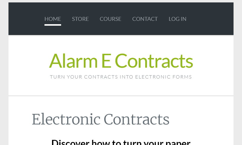 alarmecontracts.com