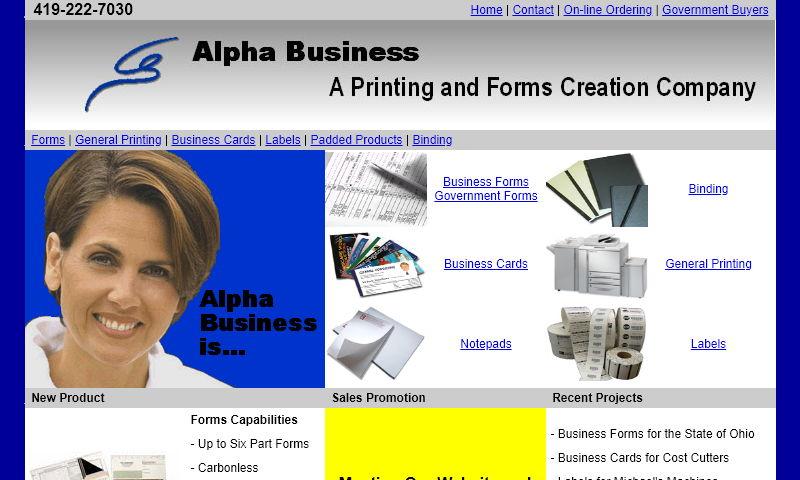 alphaprintingforms.com