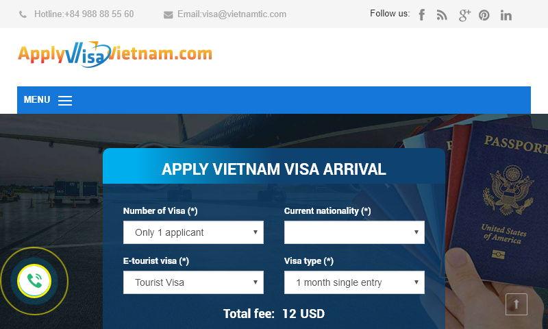 applyvisavietnam.com