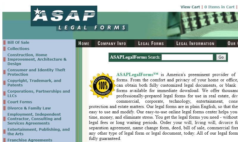 asaplegalforms.com