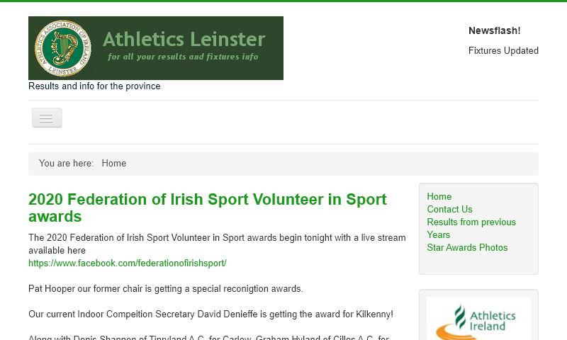 athleticsleinster.org