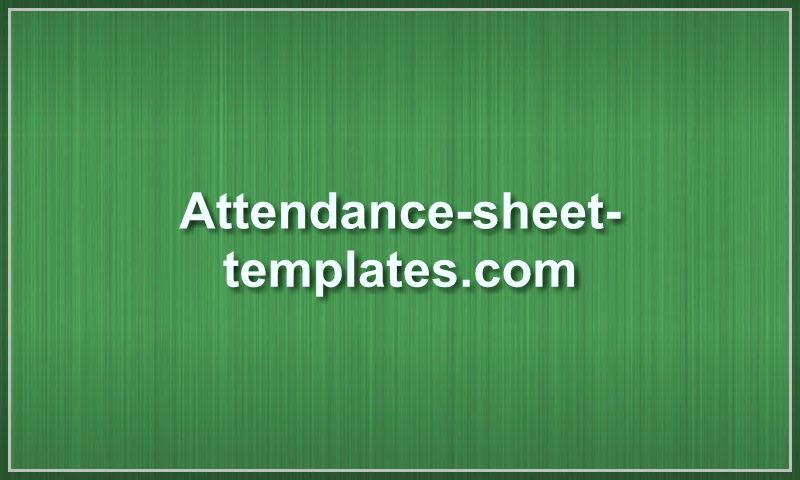 attendance-sheet-templates.com