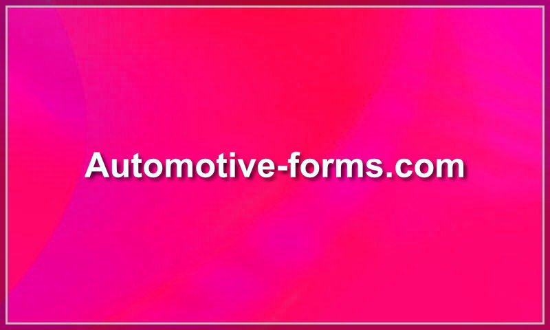 automotive-forms.com
