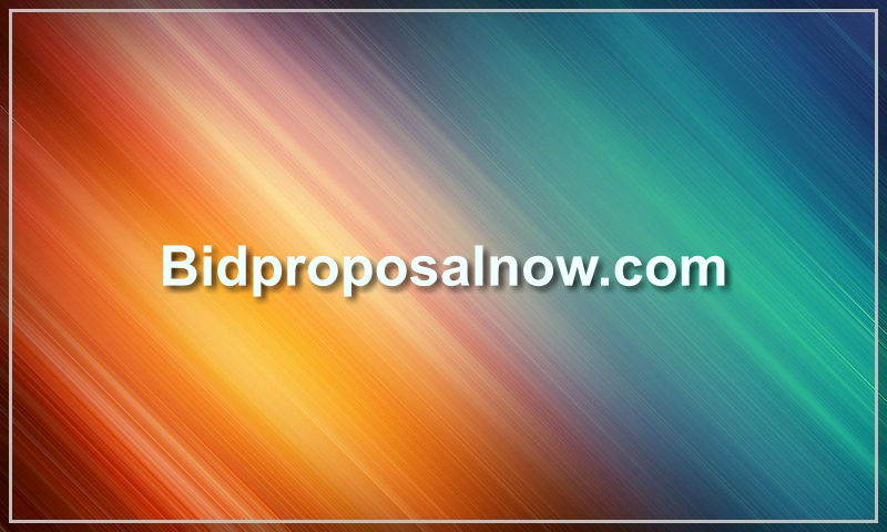 bidproposalnow.com