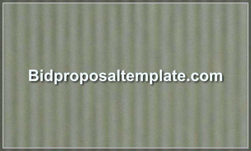 bidproposaltemplate.com