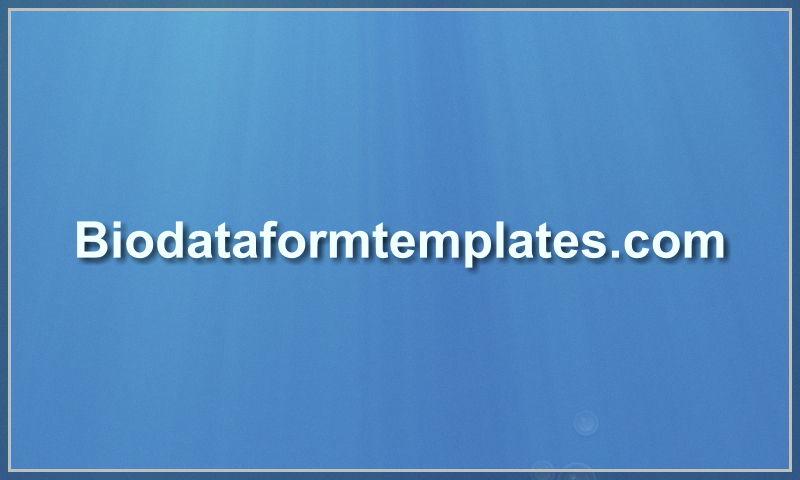 biodataformtemplates.com
