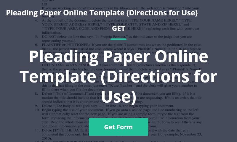 blank-pleading-paper.com
