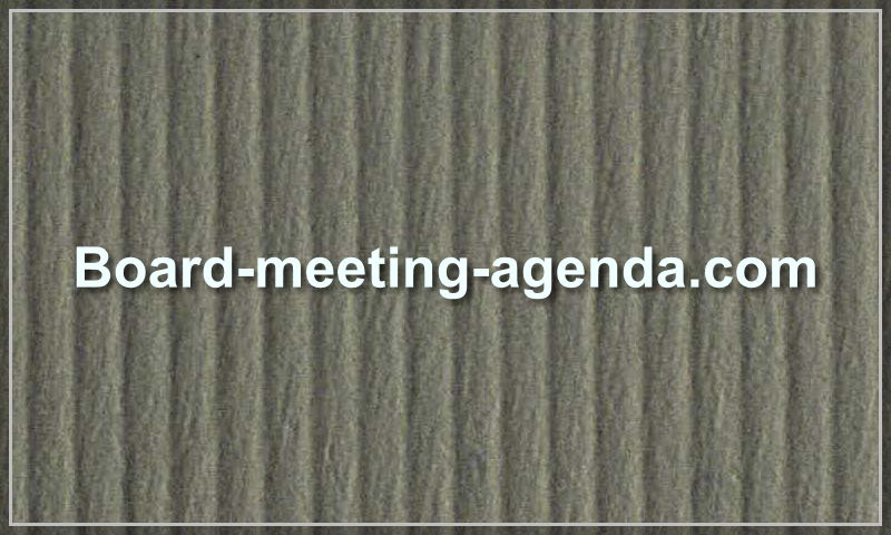 board-meeting-agenda.com