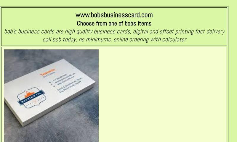 bobsbusinesscard.com