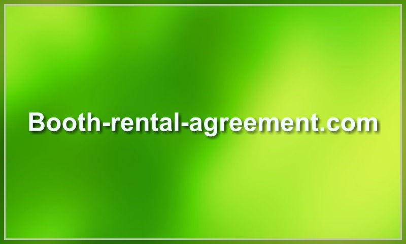 booth-rental-agreement.com