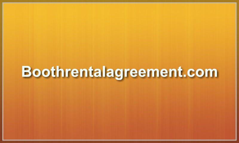 boothrentalagreement.com