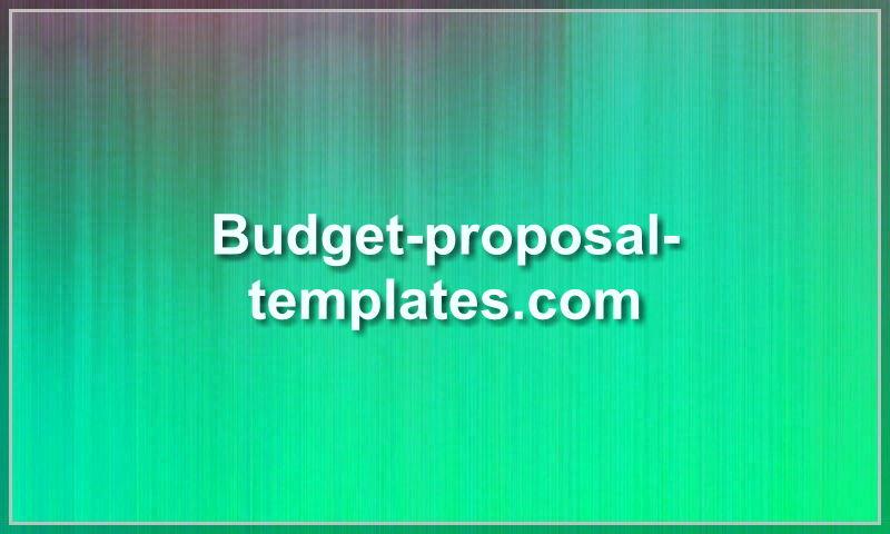 budget-proposal-templates.com