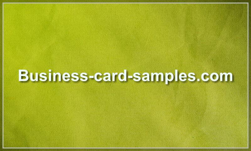 business-card-samples.com