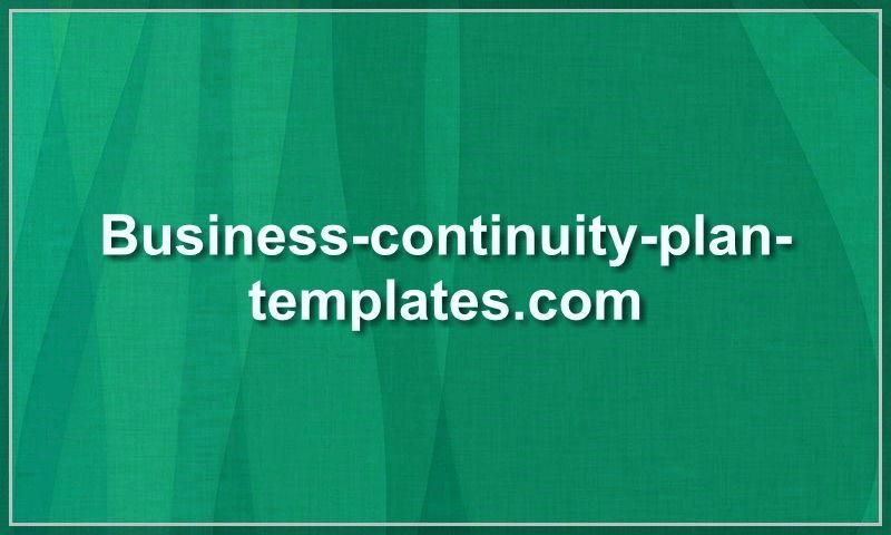 business-continuity-plan-templates.com