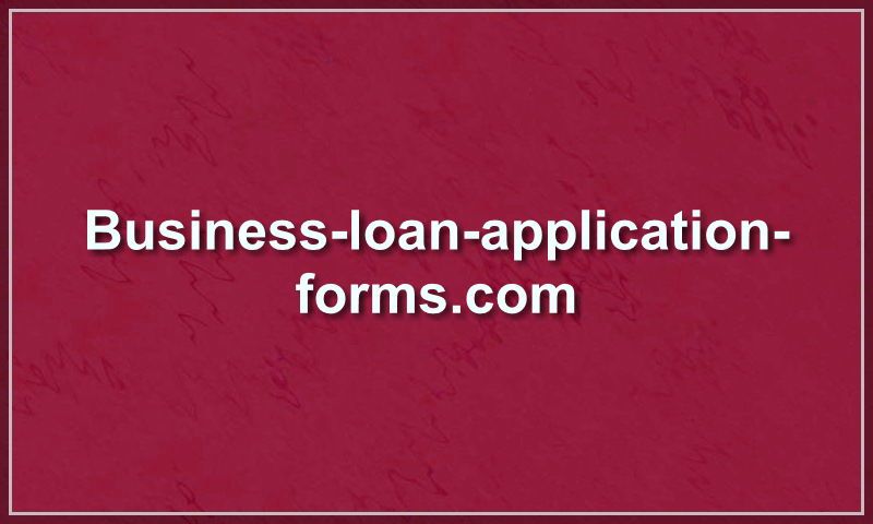 business-loan-application-forms.com