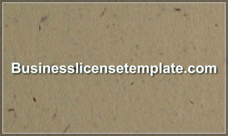 businesslicensetemplate.com