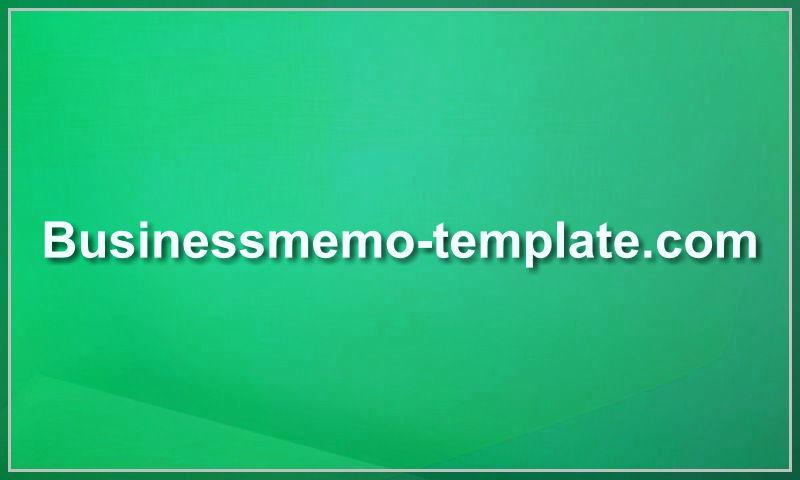 businessmemo-template.com