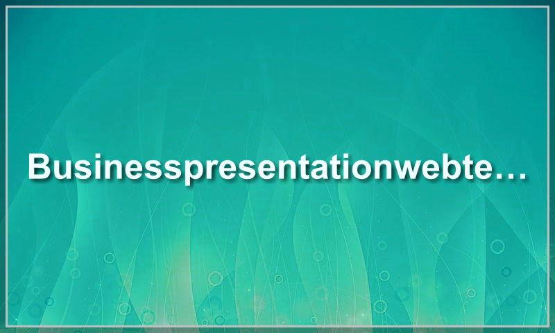 businesspresentationwebtemplate.com