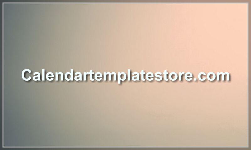 calendartemplatestore.com