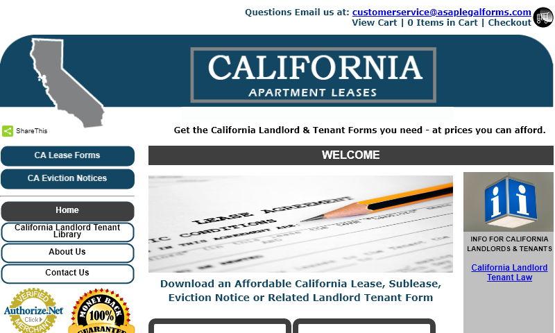 californiaapartmentleases.com
