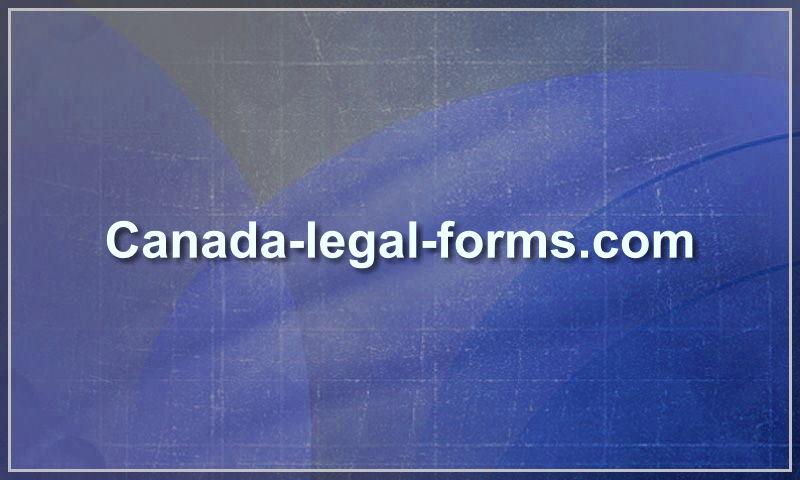canada-legal-forms.com