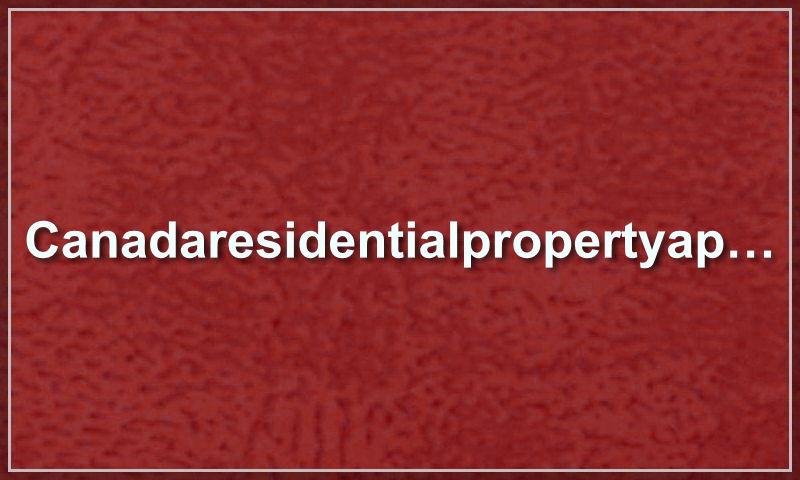 canadaresidentialpropertyapplication.com