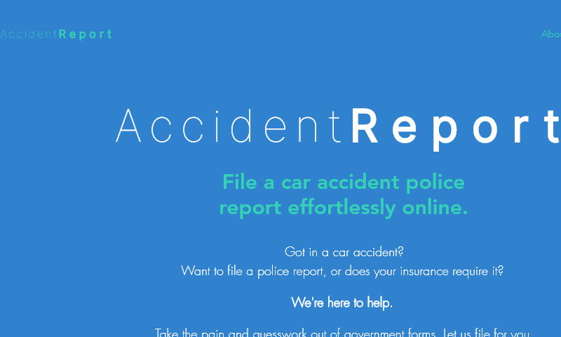 caraccidentreport.org