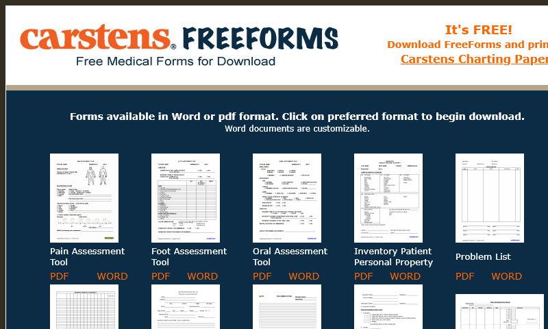 carstensfreeforms.com