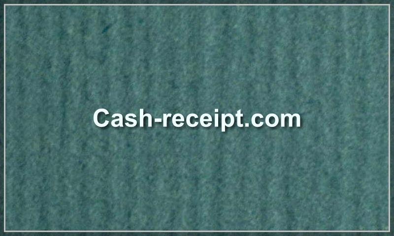 cash-receipt.com