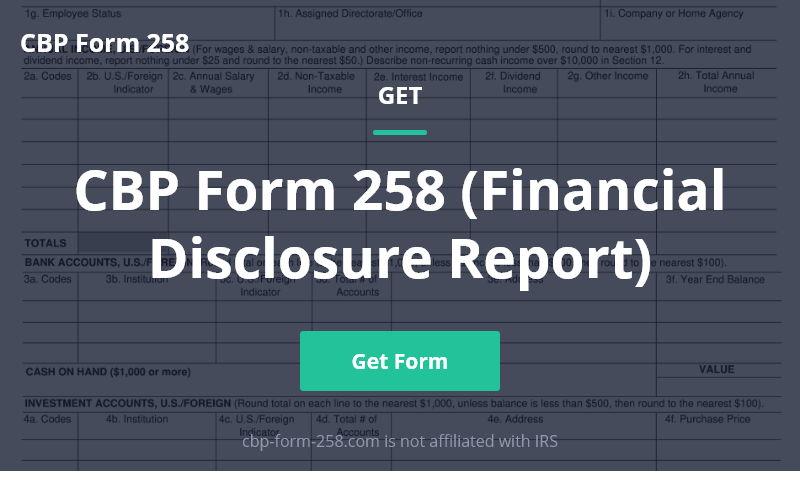 cbp-form-258.com