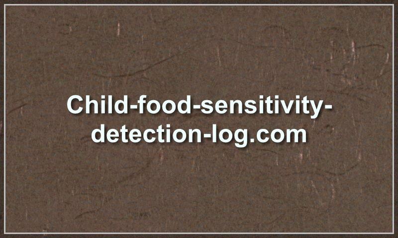 child-food-sensitivity-detection-log.com