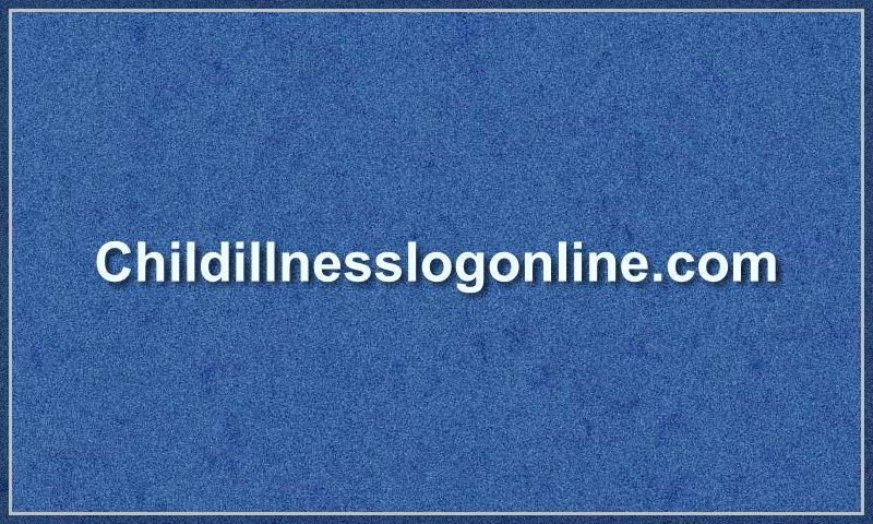 childillnesslogonline.com