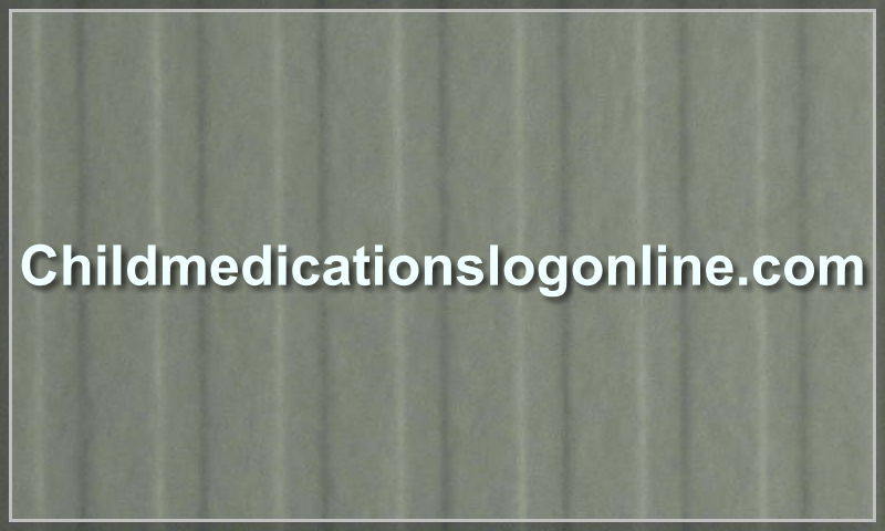 childmedicationslogonline.com