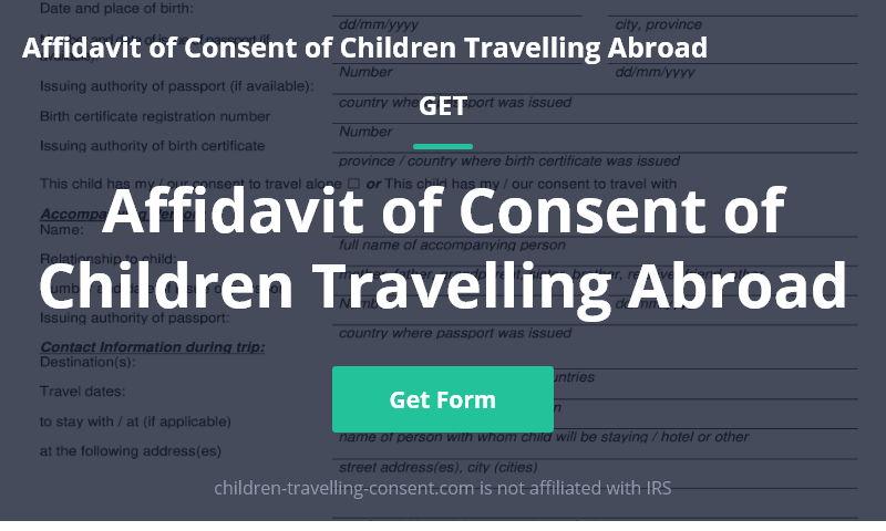 children-travelling-consent.com
