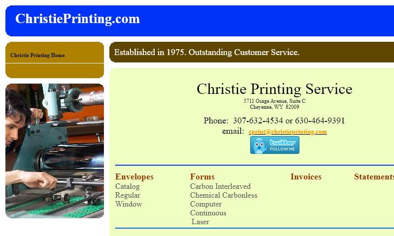 christieprinting.com