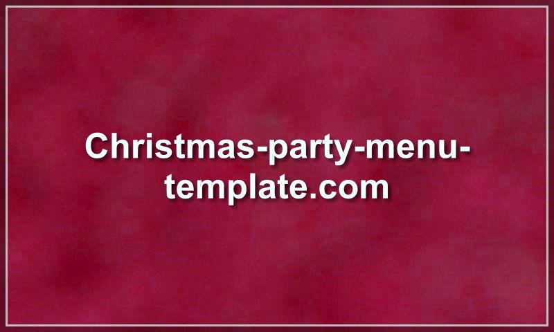 christmas-party-menu-template.com