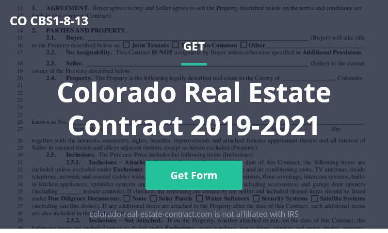 colorado-real-estate-contract.com