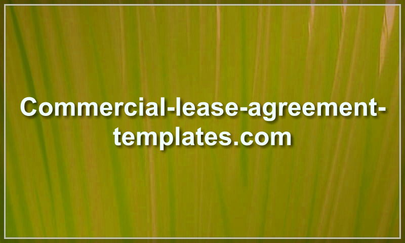 commercial-lease-agreement-templates.com