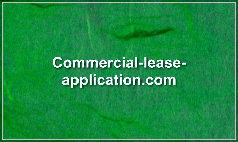 commercial-lease-application.com